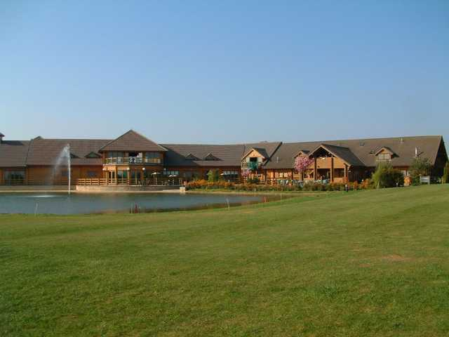 View from Witney Lakes Resort