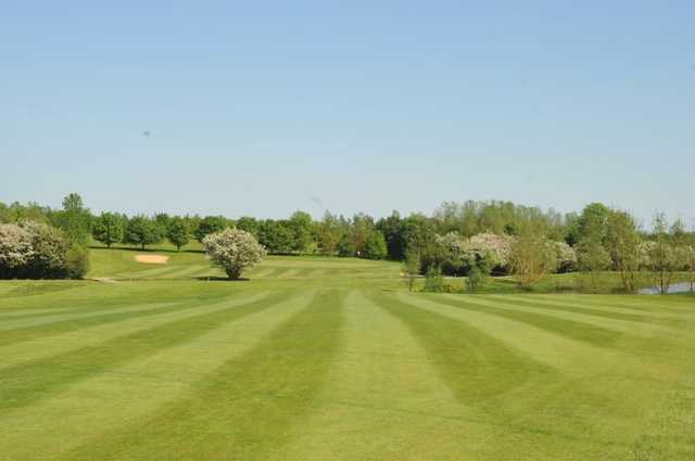 The 7th fairway at Witney Lakes Resort