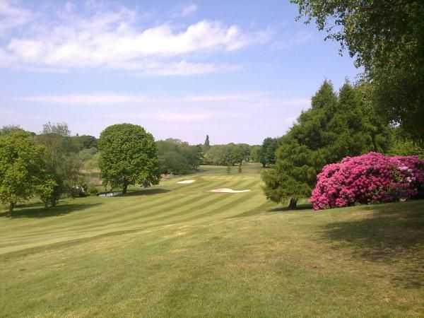 Great surroundings at Edgbaston Golf Club