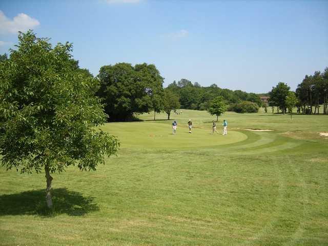 Leatherhead Golf Club fantastic greens
