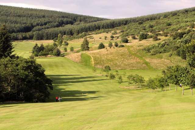 Fairway from Galashiels Golf Club