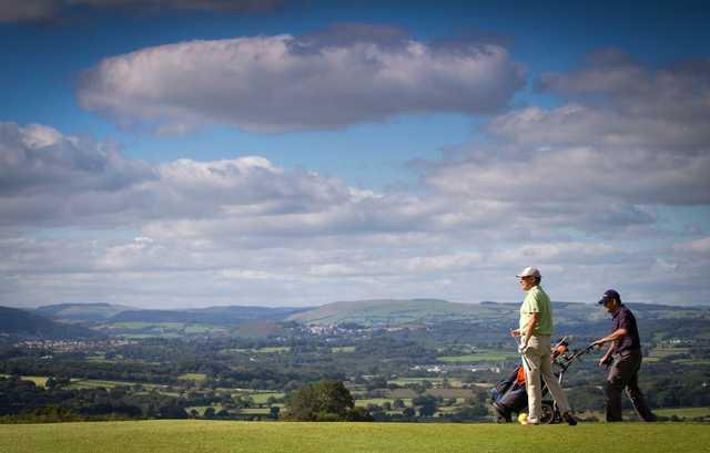 Stunning views on the Button Gwinnett Course