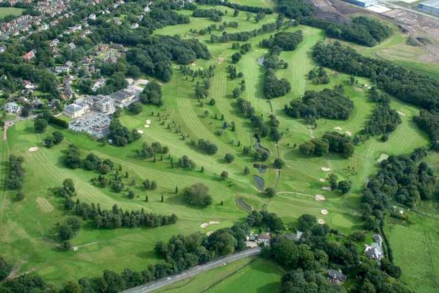 Shaw Hill Golf Club: Aerial view