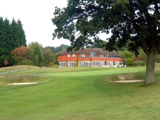 The 18th fairway and club house at Orton Meadows Golf Club