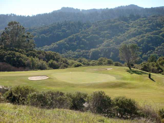A view of a hole from Crystal Springs Golf Course.