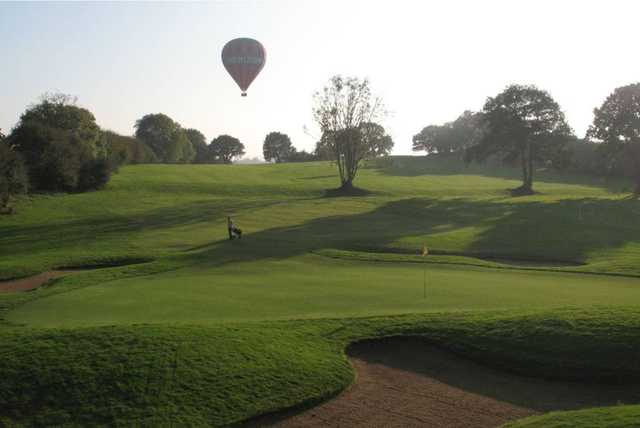 18th hole at Petersfield