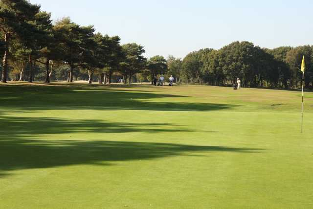 A view down the fairway from the 8th green as seen at Lee-on-the-Solent Golf Club