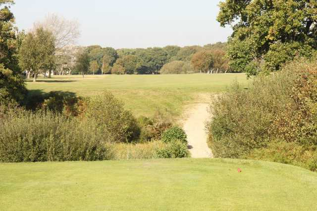 The view from the 12th tee as seen at Lee-on-the-Solent Golf Club