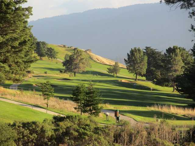 A sunny view from Crystal Springs Golf Course