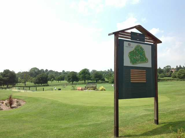Signage at The Welcombe Golf Club
