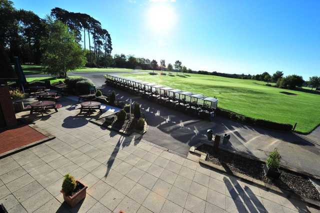 The Clubhouse offers great views of the course