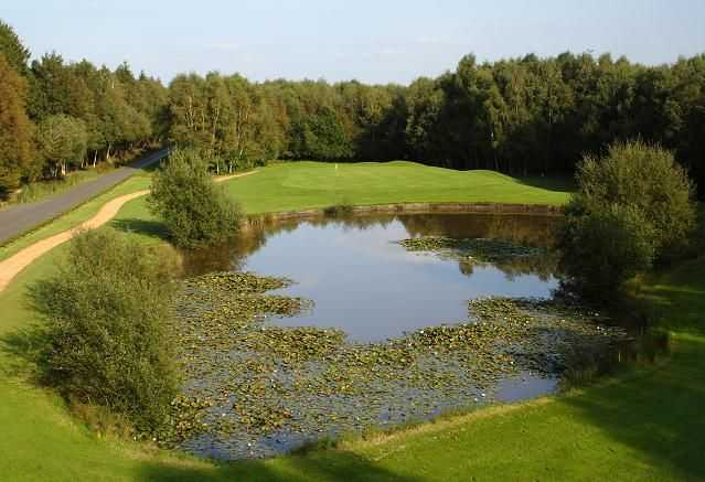 The natural beauty of Paulton's Golf Centre