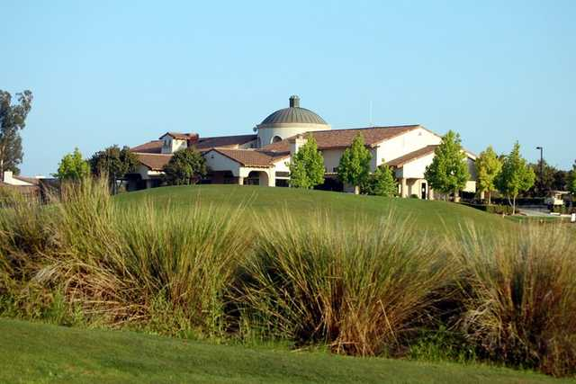 A view of the clubhouse at Sterling Hills Golf Club