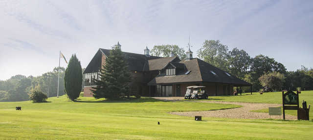 The clubhouse at Crane Valley