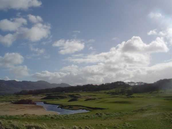 Terrific scenery at the Portsalon golf course