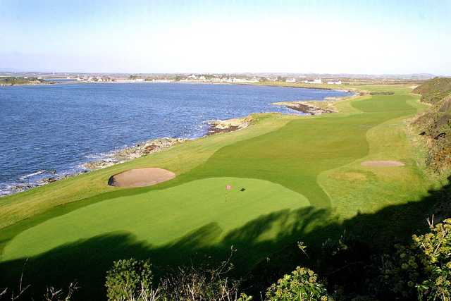11th green at Ardglass