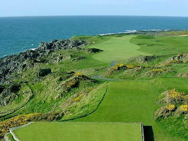 View from Ardglass GC