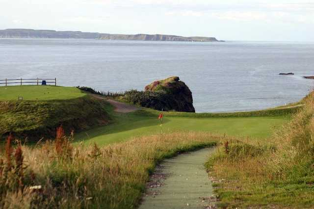 Ballycastle Golf Club - 9th hole has breathtaking sea views