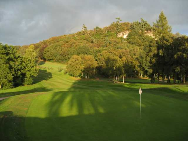 Scenic view back down the 14th at Hawkstone Park Golf Club