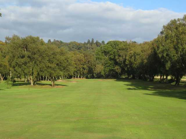 A view of the 7th hole at Hawkstone Park Golf Club