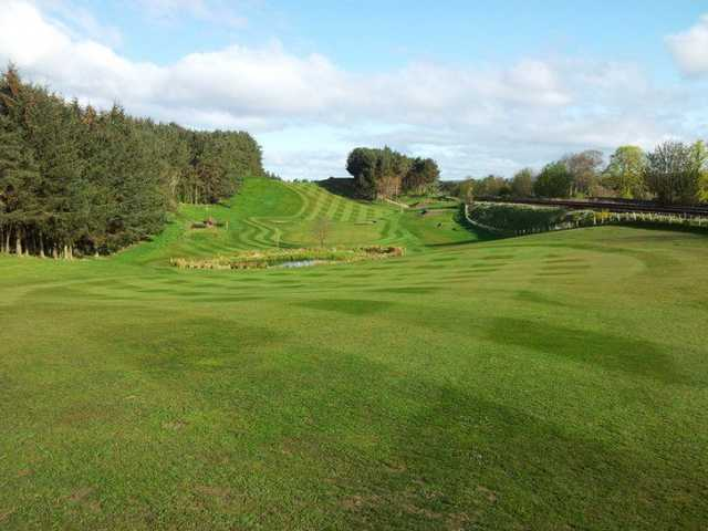 Undualting fairways