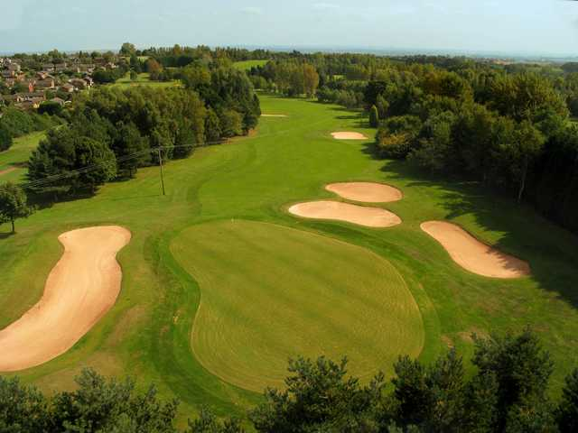 Aerial view from Telford Hotel & Golf Resort