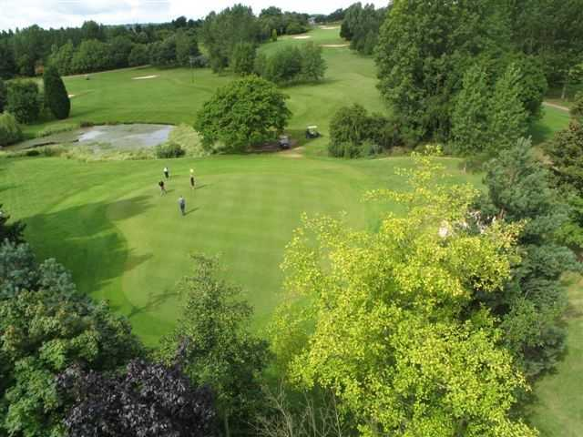 View from Telford golf course