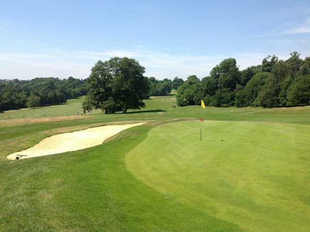 Scenic views of the 14th and 15th holes at Selsdon Park Golf Club