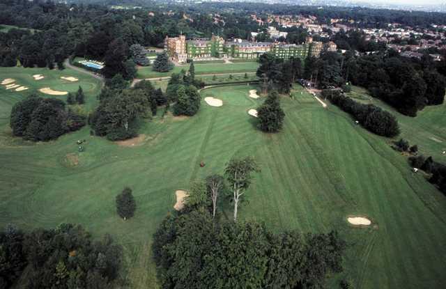 Selsdon Park aerial