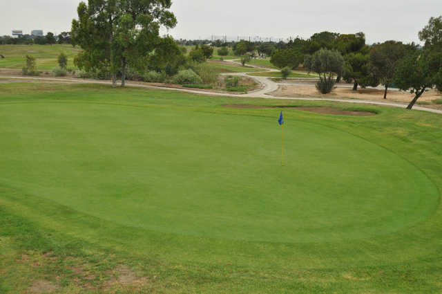 A view from Victoria Golf Course