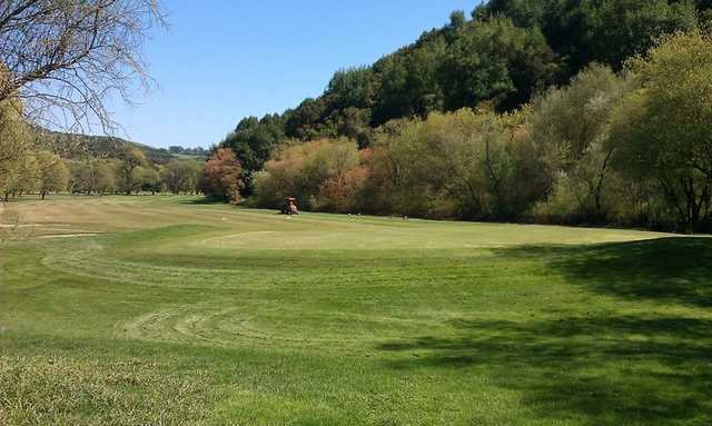 A view from Redwood Canyon Golf Course