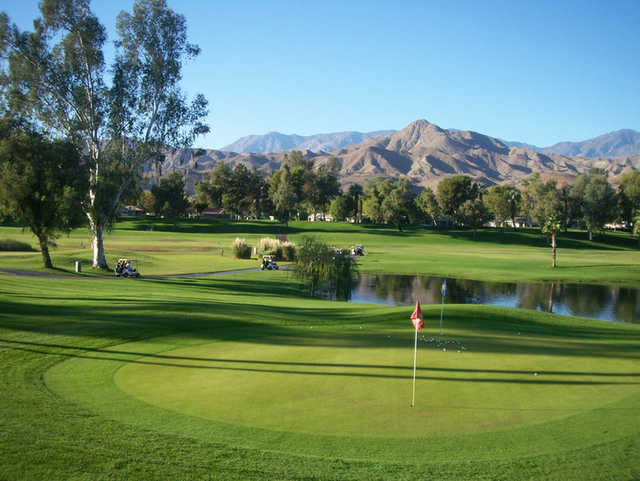 View from Cathedral Canyon Golf Club