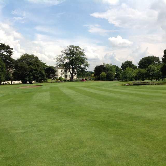 Owston Hall Golf Club 18th approach
