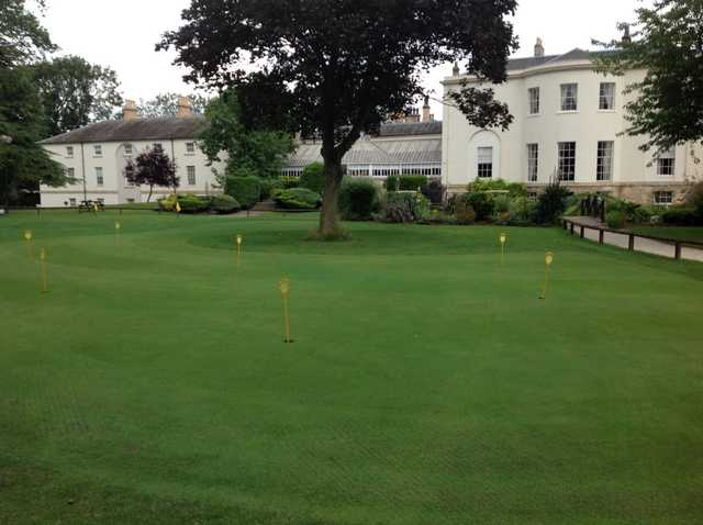 Owston Hall practice area