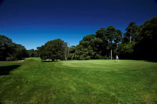 The 3rd green at  Meyrick Park Golf Club