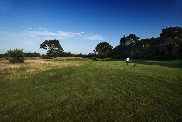 The beautiful layout of Meyrick Park Golf Club