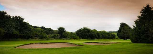 Bunkers at King James VI Golf Club