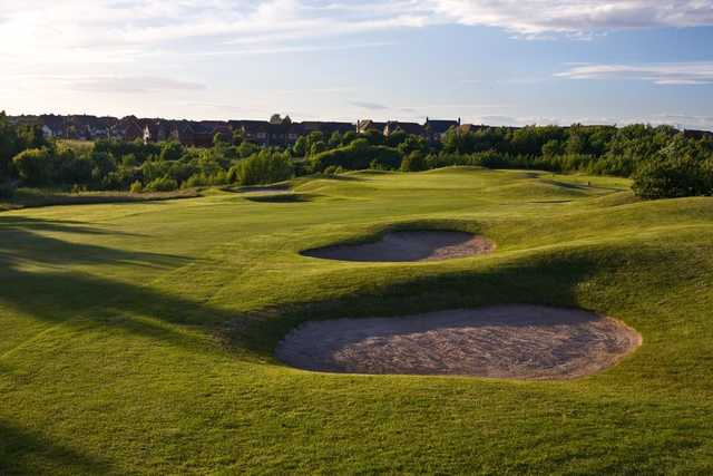 Gentle undulations at Herons' Reach Golf Resort
