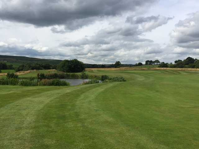 A fairway view of one of Hollins Hall's holes