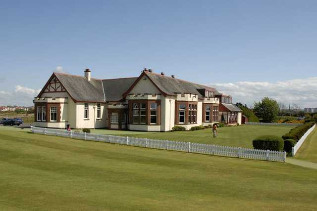 Stunning clubhouse at Irvine Golf Club
