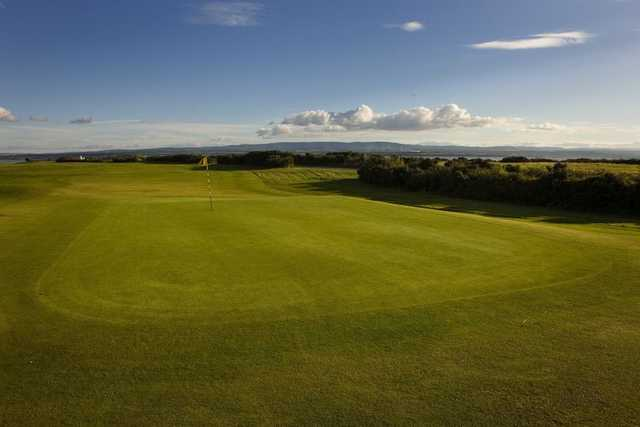 The 15th, known as 'Target' at Fortrose and Rosemarkie GC