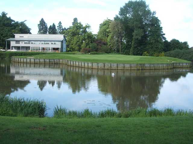 Collingtree Park's clubhouse