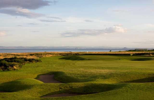 The 16th hole on the Craighead Links