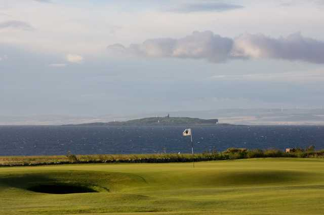 The 1st green on the Criaghead Links