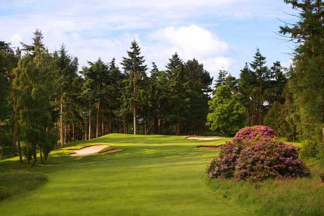 The 17th hole on the Cheshire Course