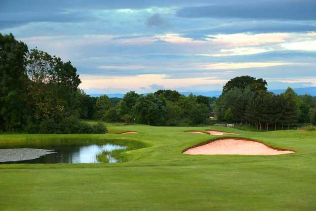 The 3rd hole on the Cheshire Course at Carden Park