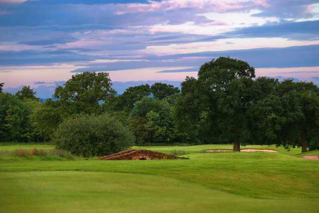 A look at the 7th hole on the Cheshire Course at Carden Park