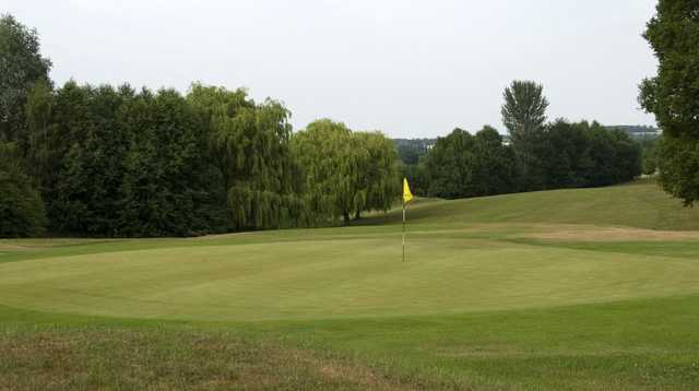 A look at the 6th green on the Baron Course at Beadlow Manor