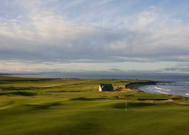 A look at the 13th & 14th at Crail Golfing Society