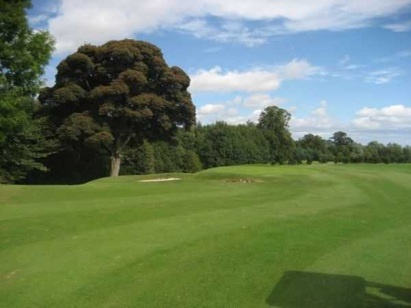 One of the immaculate fairways you can enjoy at Balbirnie Park
